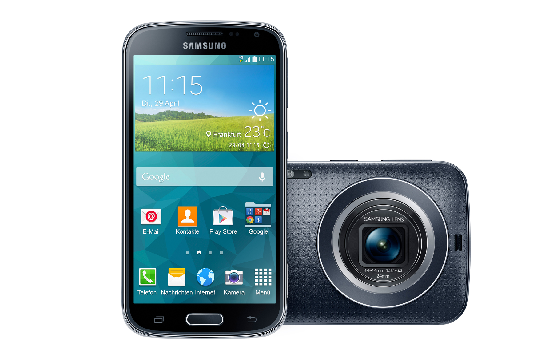 035922_Samsung GALAXY K zoom_(SM-C115)_charcoal-black_180_quer_Front