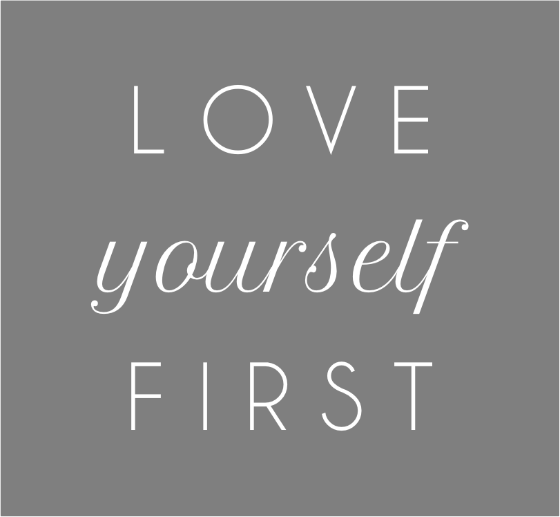 Final, sorry, love yourself first