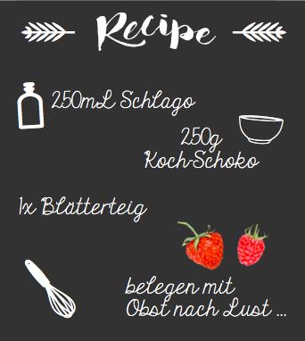 RecipeSchokoTarte